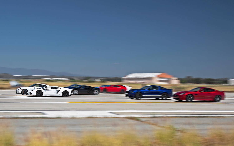 مسابقه درگ بین سریعترین ماشین های دنیا - 3