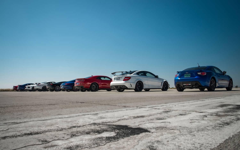 مسابقه درگ بین سریعترین ماشین های دنیا - 2
