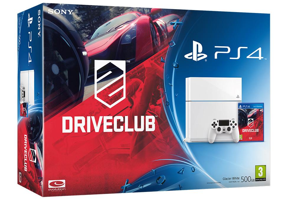 DriveClub White PS4 Bundle