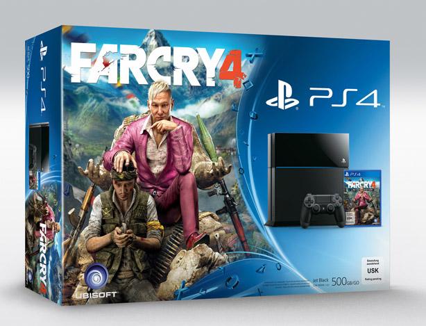 Far Cry 4 PS4 bundle