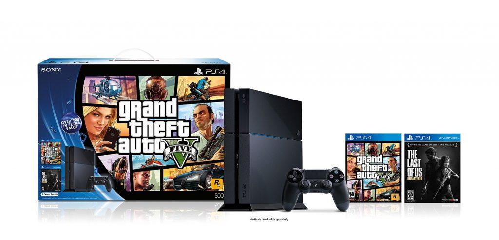 PS4 Grand Theft Auto V® Black Friday 2014 Bundle