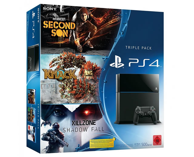 PlayStation 4 Triple Pack