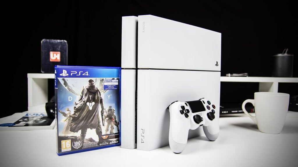 White PS4 Destiny Bundle