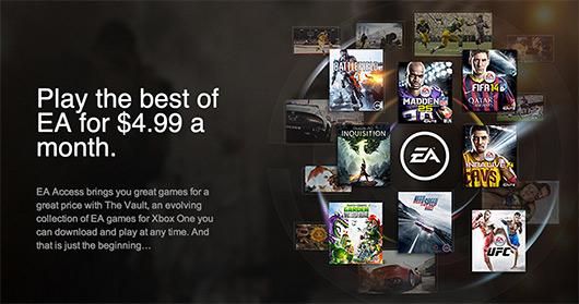 ea access چرا باید Xbox One بخریم !
