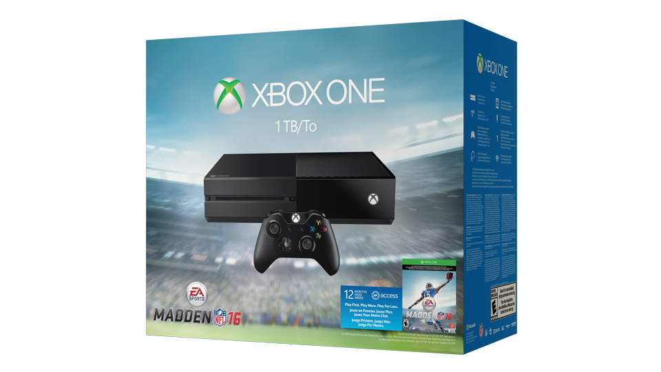 Xbox One EA Sports™ Madden NFL 16 Bundle