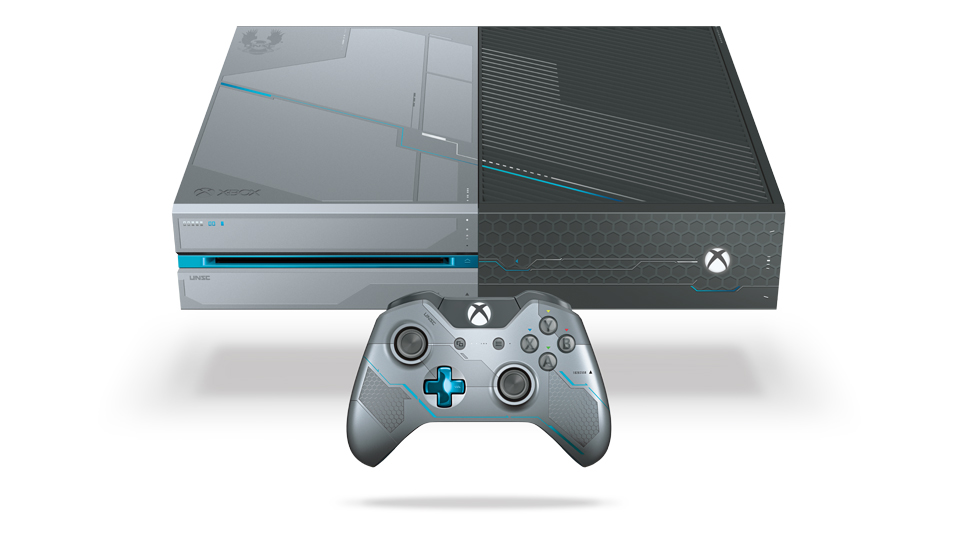 Xbox One Limited Edition Halo 5 Guardians Bundle