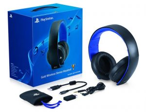 Gold-Wireless-Stereo-Headset